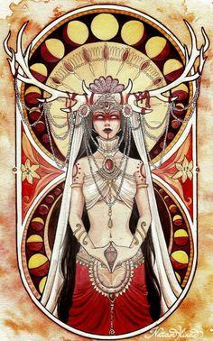 Red Goddess Priestess