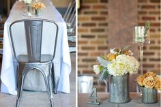 Te presento una tendencia en decoración de boda 2015: la industrial #bodas #elblogdemaríajosé #decoraciónboda #tendenciasbodas2015 #bodaindustrial
