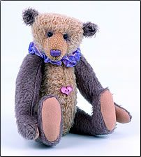 Olde Lavender Bear by Anita Weller of Puzzle Bears