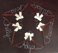 Personalized Bridesmaid Hanger Wedding Dress by ForeverAndADayVA, $12.00