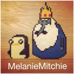Gunter and Ice King hama beads by melaniemitchie