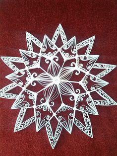 Quilling stars 40 bij 40 cm       Quilling star 30 bij 30 cm    Quilling star 40 bij 40cm