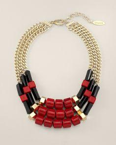 Chico's Robin Multi-Strand Necklace