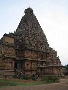 Raja Raja, self-proclaimd king of kings' temple, Thanjavur  1010 A.D.