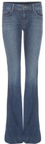 J Brand The Lovestory Flared Jeans