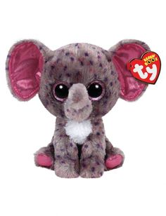 Tween Brands Specks Elephant 6 Inch Beanie Boo Big Eyes 544aadfd3cee