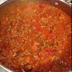 Homemade pasta sauce ❤