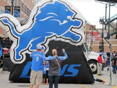 Lions Inflatable Logo