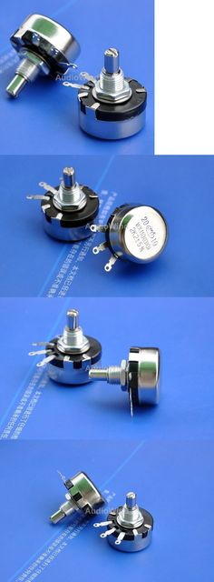 Other Vintage A V Parts and Accs: 10K Ohm 1 Watt Wirewound Potentiometer, Pots, X50pcs BUY IT NOW ONLY: $120.0