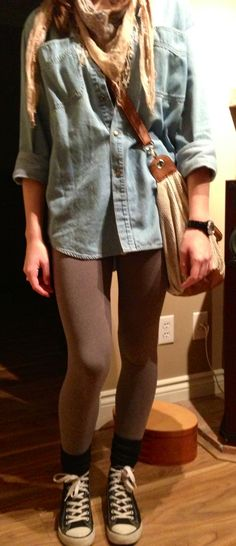 My Lazy Day Outfit High school hipster ^_^