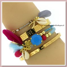 Zomerkriebels krijgen wij van deze ibiza armbandjes! Net nieuw binnen gekregen! www.armbandonlinekopen.nl