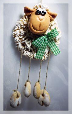 Salt Dough Sheep