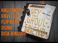 Halloween Envelope Flip Book