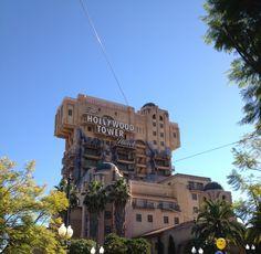 Tower of Terror #californiaadventure #disneyland #disneyland #hollywood