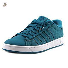 K-Swiss Women's Hoke Heather CMF Fashion Sneaker, Tile Blue/Ocean Depths/White, 6.5 M US - K swiss sneakers for women (*Amazon Partner-Link)