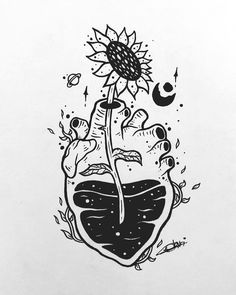 Beautiful Tattoo Sketches for Your Inspiration In 2020 Art by Alice Korn In 2020 Trippy Drawings, Dark Art Drawings, Pencil Art Drawings, Art Drawings Sketches, Tattoo Sketches, Cute Drawings, Tattoo Drawings, Abstract Drawings, Random Drawings