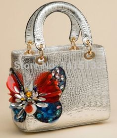 2014 New Crocodile embossed butterfly diamond drill Ms. Choi oblique cross bags in Top-Handle Bags of Bags and Luggage on AliExpress.com | Alibaba Group