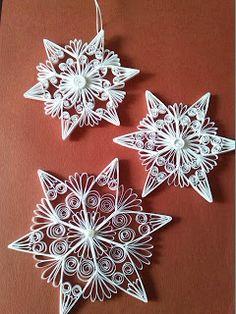 Quilling Creaties-Baukje: Kerststerren Quilling