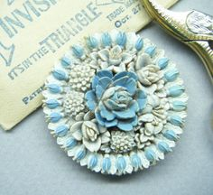 Prettiest Vintage Button Dimensional by thefaeriecupboard on Etsy