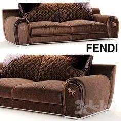 Download Sofa VARENNE fendi free 3D model for printing