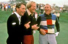 ENJOY the GAME cahillgolf.com Jack Nicklaus, Arnold Palmer & Gary Player share a laugh.