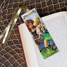 The Pirate Fairy Bookmark - With Tinker Bell and all of her Fairy Friends #DIY