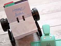 Triple the Scraps: See how to organize all of those word stamps you have on hand and find them easily!