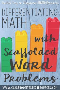 Math Classroom, Kindergarten Math, Teaching Math, Math Math, Maths, Teaching Ideas, Classroom Ideas, Differentiation In The Classroom, Math Multiplication