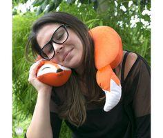 Almofada de pescoço - almofofa raposa | Uatt? Presentes Para Todo Mundo