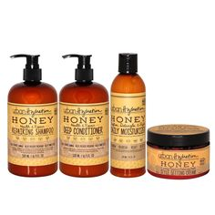 Urban Hydration: Natural Hair & Skin Care Products Honey Shampoo, Ginger Extract, Frizz Control, Moisturize Hair, In Cosmetics, Deep Conditioner, Hair Repair, Hair Care, Natural Hair Styles