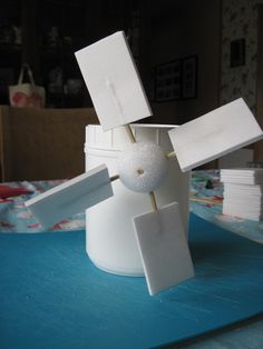 How to make a windmill.  Now, we just gotta ad some gears and get it to do some work!
