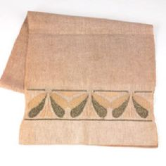 Stickley Embroidered Table Runner.