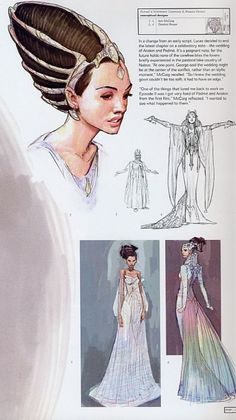 concept art for padme amidala - Google Search
