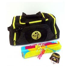Become Our Facebook Fan, Enter to Win a Zumba Fitness Video Game Prize... ❤ liked on Polyvore featuring bags