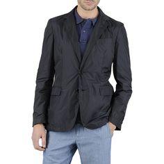 Ugo deconstructed nylon blazer