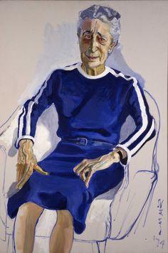 Alice Neel (1900-84), Isabel Bishop, 1974, oil on canvas. Montclair Art Museum.