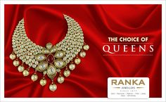 For life's most special occasions: Majestic jadau necklace from Ranka Jewellers.