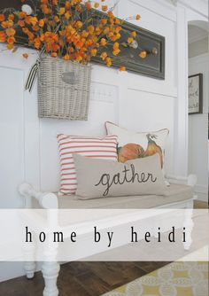Day 4 of the Farmhouse Fall Tour of Homes featuring Gracie Blue, Home Remedies, and Home by Heidi.