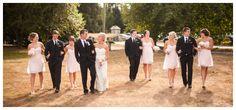 Like the bridesmaids dresses!