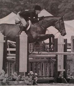 Councilor Buck & Eliza Shuford were the Small Junior Hunter 16-17 Champions at Detroit in 1995.