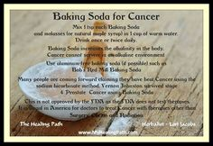 The Powerful Baking Soda Maple Syrup Cancer Protocol - The Holy Grail of Cancer Treatments...  http://www.life-saving-naturalcures-and-naturalremedies.com/natural-cancer-cures-baking-soda-maple-syrup-treatment.html