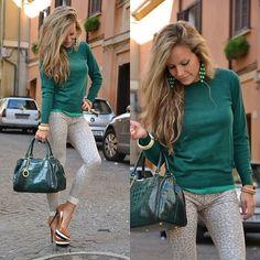 Zara Pullover, Arcadia Bag, Pull Jeggings