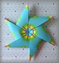 ✶HPBD (Happy Birthday) Star ✶   . Autor: Andrey Hechuev . Instruções de dobra: Jakub Krajewski ( https://www.youtube.com/watch?v=r0YpbW9pXUk&feature=youtu.be . Dobrado por: Margareth Mazzilli   Outubro2015