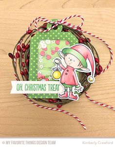 For the Love of Paper: MFT Stamps Handcrafted Holiday Celebration: Tags
