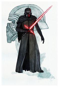 Star Wars: The Force Awakens: Kylo Ren - Matteo Ferreccio