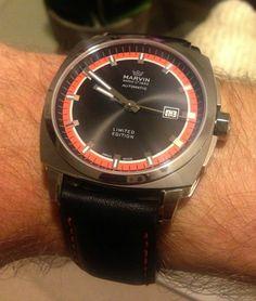 Marvin Malton Cushion Watch