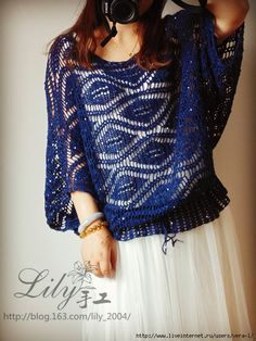 Crochetemoda: Crochet Blouse
