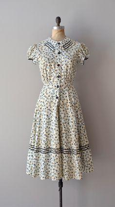 1930s dresses | 1930s dress / vintage 30s dress / Unicode dress by DearGolden