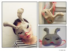 {DIY Masque} Lapin - Le Blog de Rougier & Plé