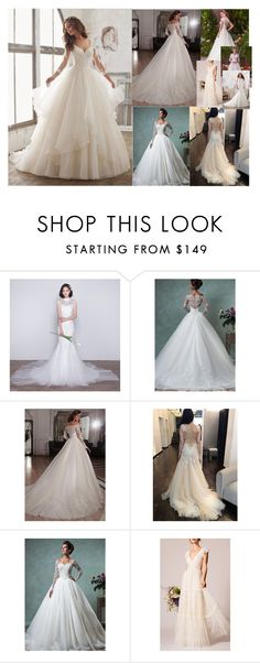 """""""Wedding Dresses??? Probably Not..."""" by grandmasfood ❤ liked on Polyvore featuring Maggie Sottero and Temperley London"""